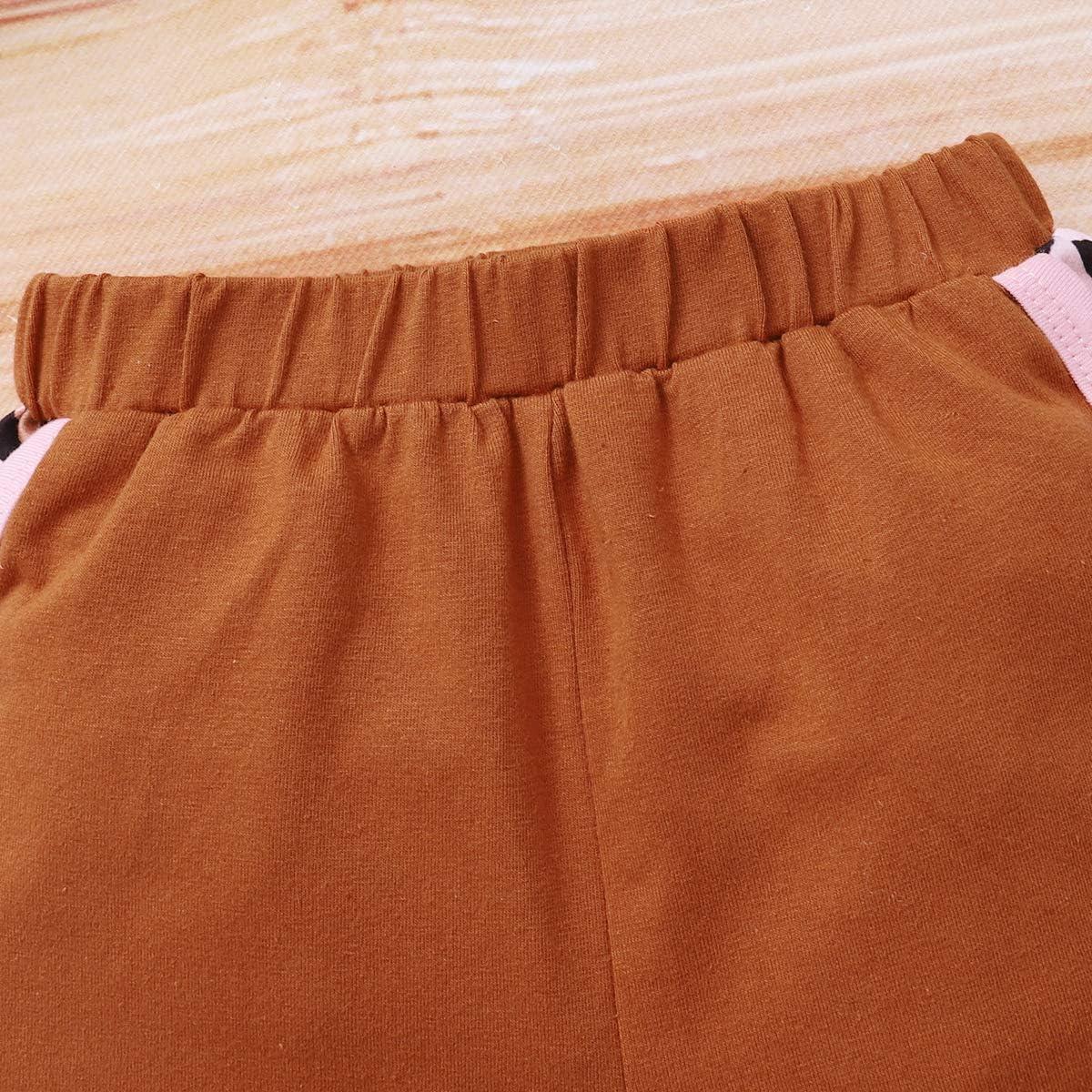 Toddler Kids Baby Girl Boy Tie Dye Summer Outfit Short Sleeve Shirt Top Shorts 2pcs Clothes Set