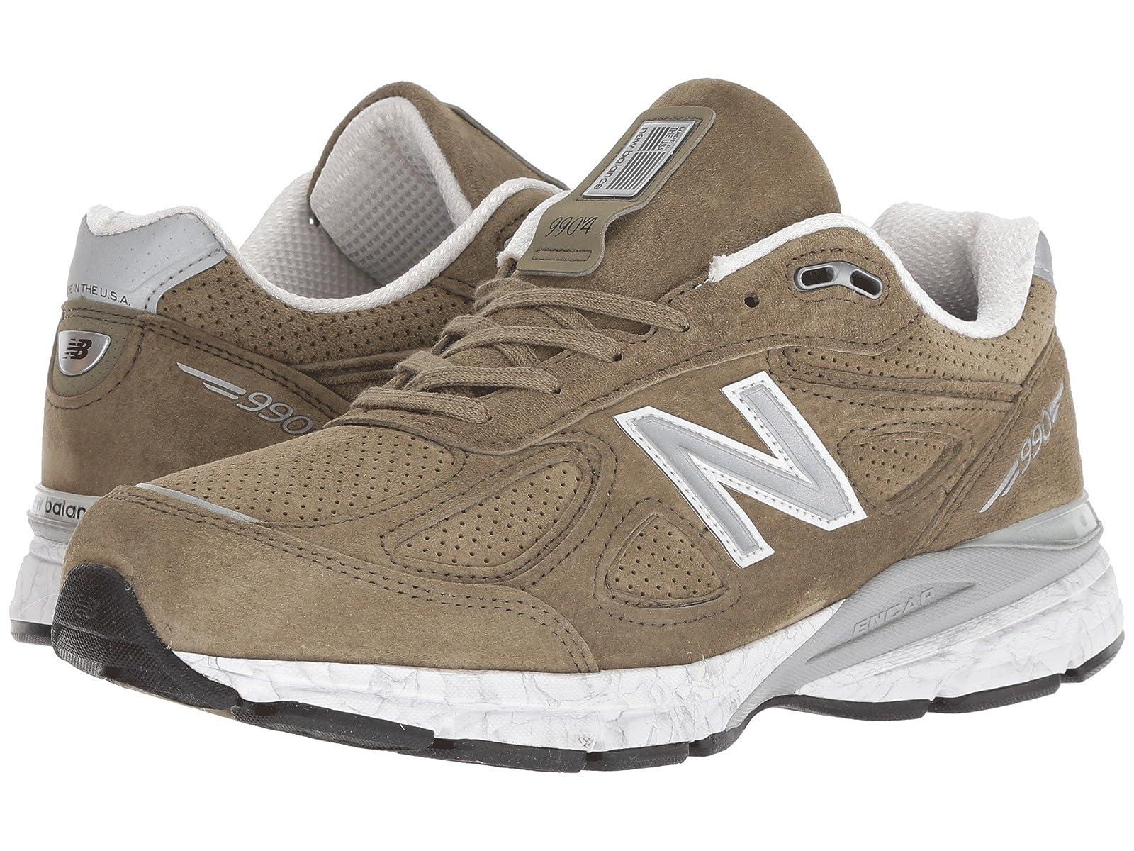 New Balance M990V4Atmospheric grades have affordable shoes