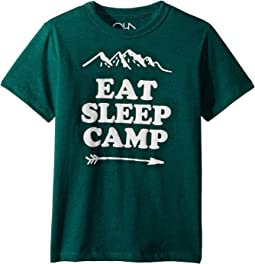 Super Soft Eat Sleep Camp Tee (Little Kids/Big Kids)