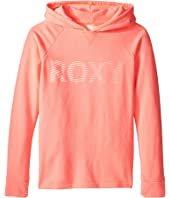 Roxy Kids - Ukulele Player Roxy Move Hoodie (Big Kids)
