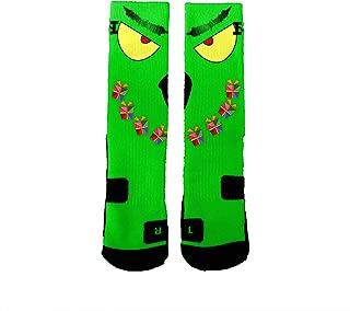 Brand Athletic Socks Grinch