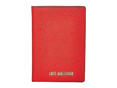 LOVE Moschino Love Wallet (Red PU) Handbags