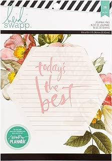 Heidi Swapp 312594 36 Sheets Large Memory Planner Journal Paper Pad