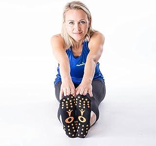 MXL MaXimus Life ReboundUK antypoślizgowe skarpety z uchwytem rozmiar UK 4-7 - idealne do odbijania, jogi, tańca, sztuk wa...
