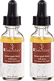Swiss Apple Stem Cell Serum 3000 Dramatically Reduces Wrinkles & Fine Lines - Rejuvenates Complexion PhytoCellTecTM & Matrixyl 3000