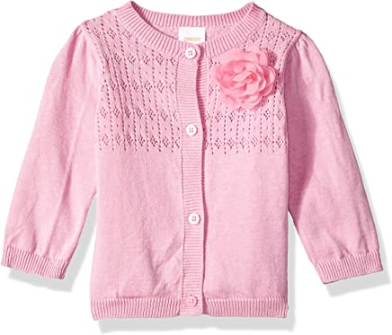 c3269a1e745ce Gymboree Baby Girls Long Sleeve Classic Cardigan