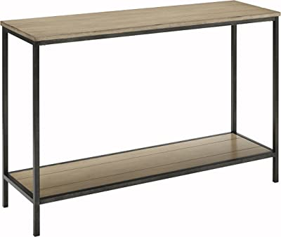 Crosley Furniture Brooke Console Table - Washed Oak