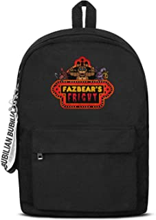 Unisex Anime Backpack Slim Canvas Backpack for Students.