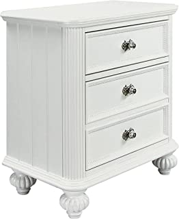 Acme 30009 Athena Nightstand, White