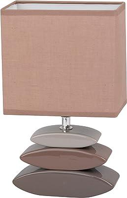 Honsel 53621 Lampe de table, E14, Marron