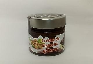 Maná Pistachos Ecológicos - Pistacho manchego ecológico (Crema de pistacho y cacao 170 g.
