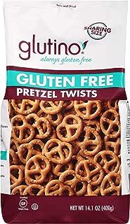 Glutino Gluten Free Pretzel Twists, 14.1-Ounce Bags (Pack of 12) ( Value Bulk Multi-pack)
