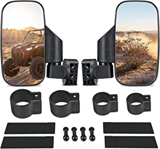 ISSYZONE UTV Side View Mirrors with 1.75