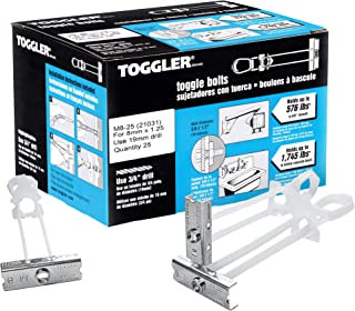 TOGGLER Cavity Anchors SDS M810-64mm, 25Pieces, 96200510