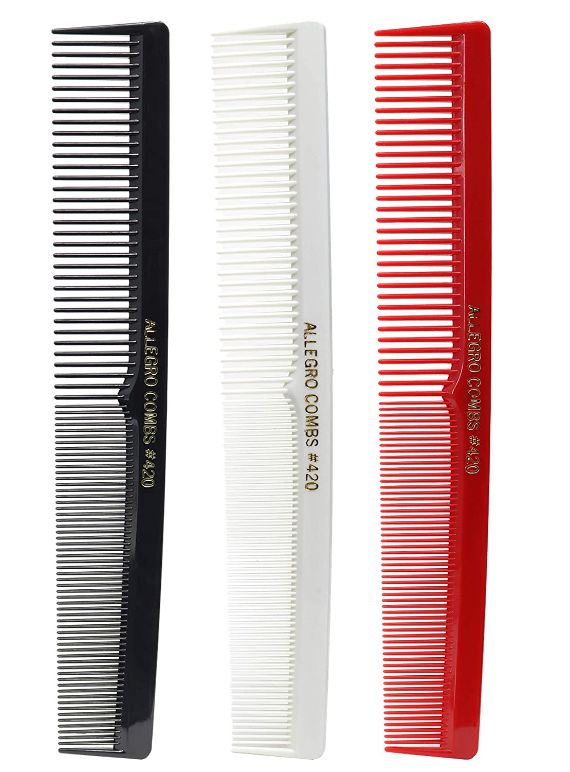 Allegro Combs 420 Hair combs Cutting Free shipping anywhere in the nation Columbus Mall C Comb Barber Set