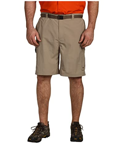 Columbia Big Tall Silver Ridge Cargo Short (42-54) (Tusk) Men