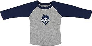 University of Connecticut UCONN Huskies Baby and Toddler 2-Tone Raglan Baseball Shirt