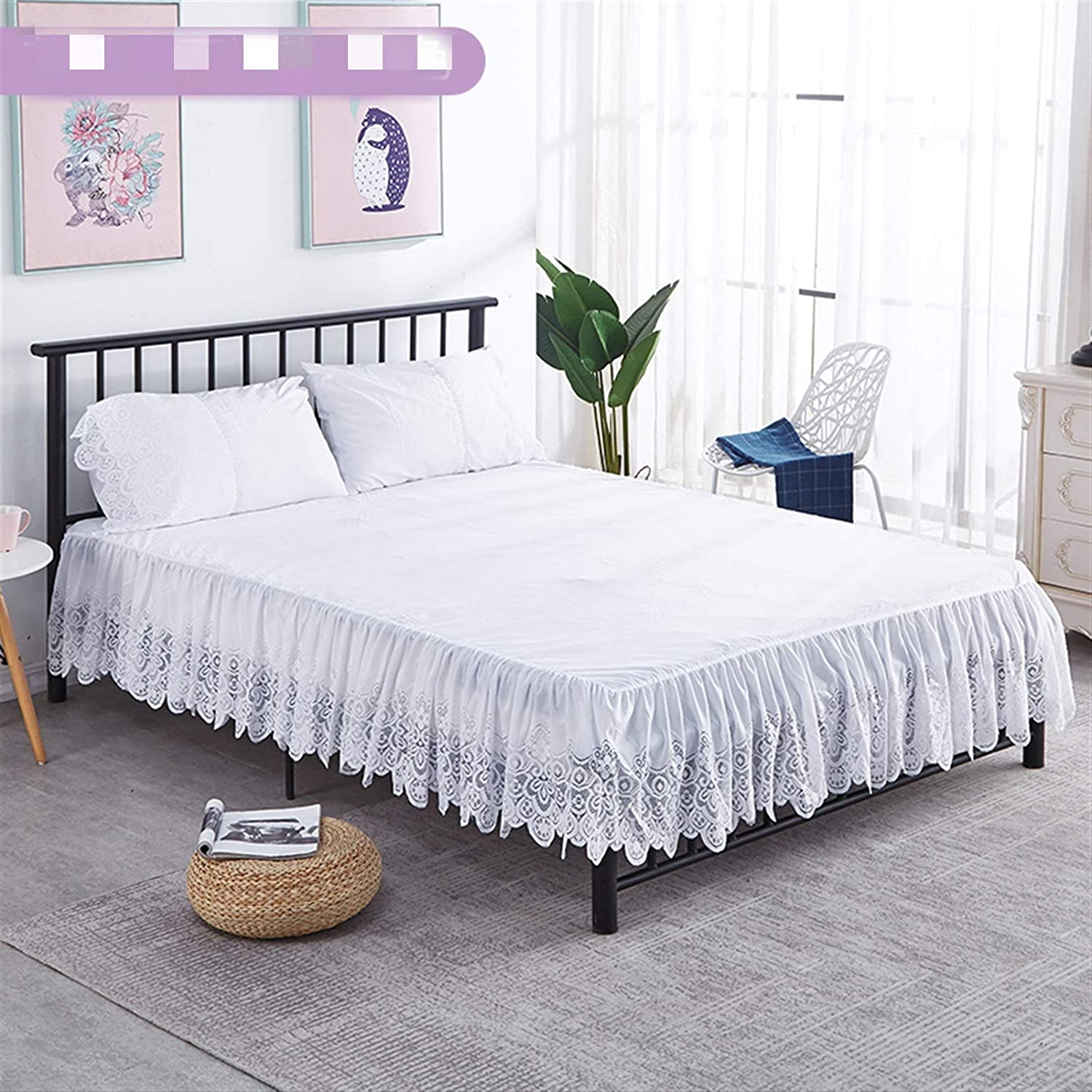 2021 spring and summer new Cash special price Durable Popular Pleated Base Platform He Sheets 15 Inch Valance