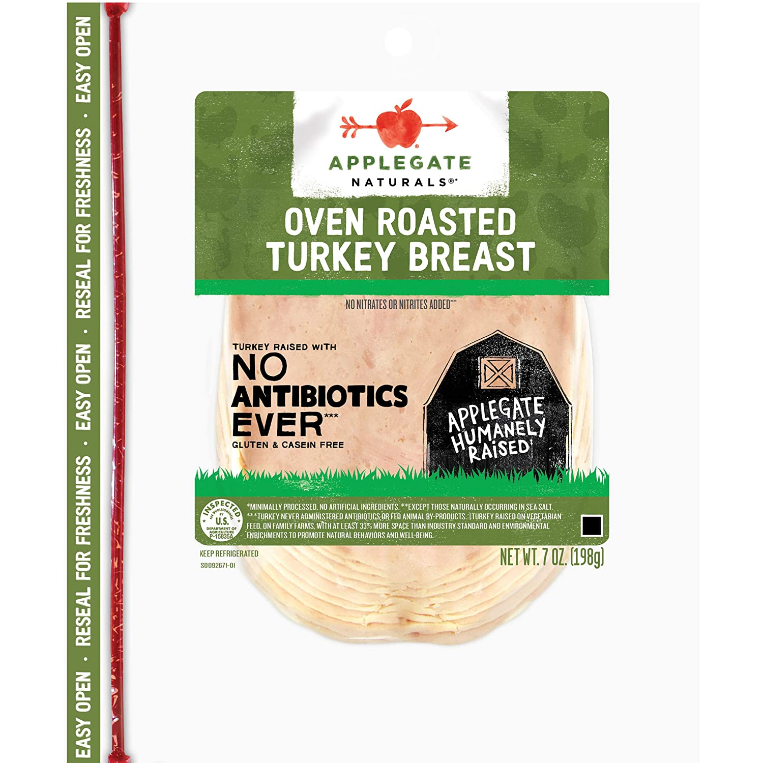 Applegate Natural Oven Rapid rise Roasted Max 59% OFF Breast Turkey 7oz