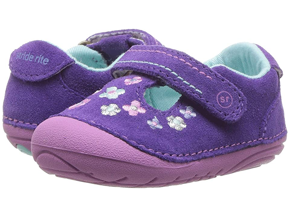 Stride Rite SM Tonia (Infant/Toddler) (Purple Suede) Girl