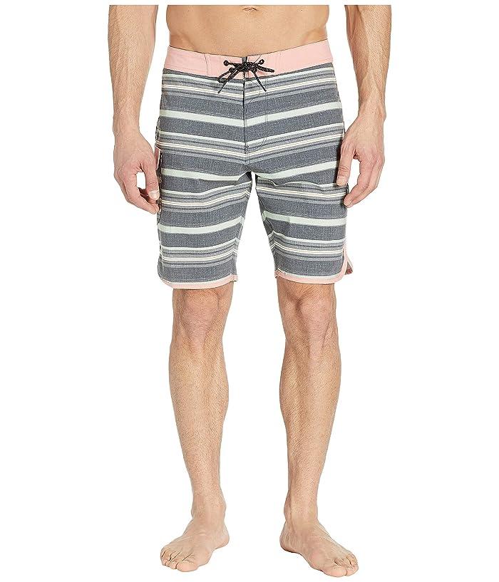 VISSLA 20 Tiger Tracks Swim Shorts (Phantom) Men