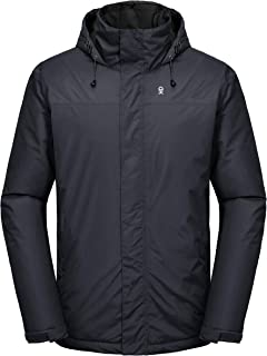 Little Donkey Andy Men's Waterproof Ski Jacket Warm Winter Snow Coat Mountain Windproof Hooded Rain Jacket