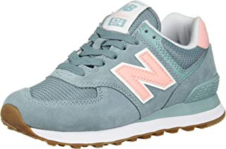 New Balance Women's 574v2 Sneaker, Smoke Blue, 10 B US