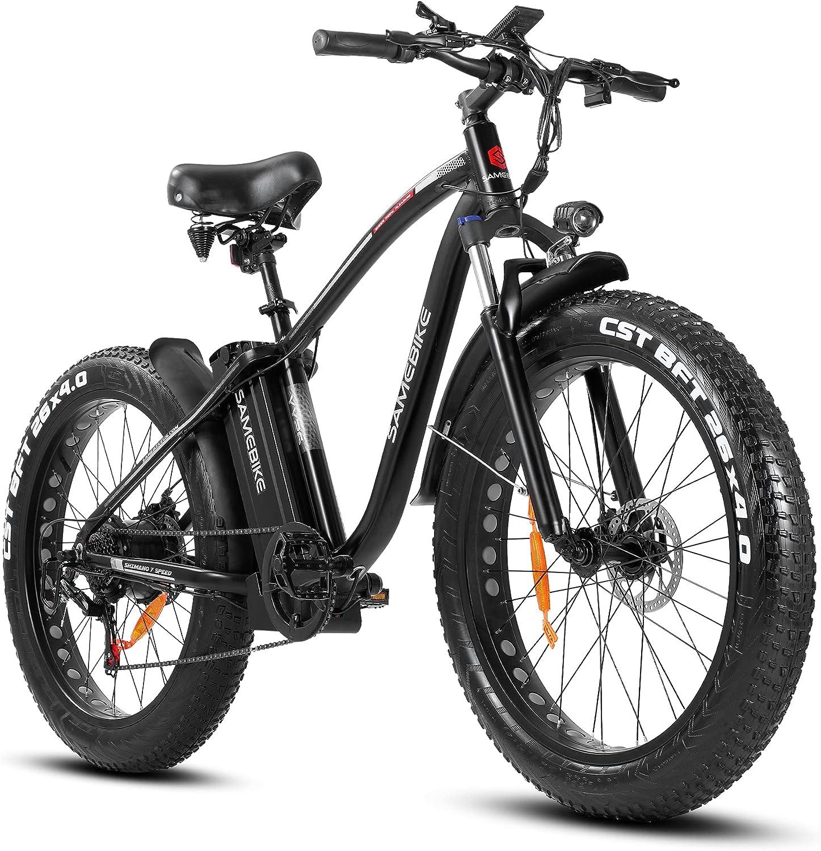 SAMEBIKE 750W 26 inch Fat Tire Award Adults Bike for Electric In stock 48V 14.5