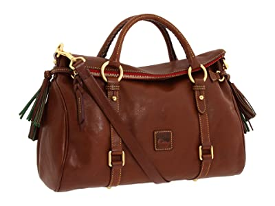 Dooney & Bourke Florentine Vachetta Satchel (Chestnut) Handbags