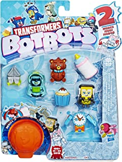 Transformers Toys Botbots Series 3 Goo-Goo Groopies 8 Pack – Mystery 2-in-1 Collectible Figures! Kids Ages 5 & Up (Styles & Colors May Vary) by Hasbro