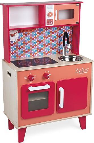 Janod J06573 Küche Spicy (Ohne Zubeh