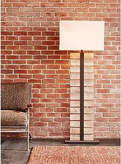 Ink+Ivy Malibu Wood Floor Lamp Grey See Below