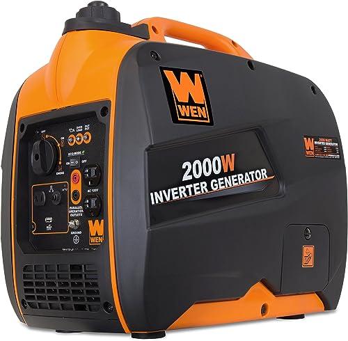 WEN 56200i 2000-Watt Gas Powered Portable Inverter Generator, CARB Compliant