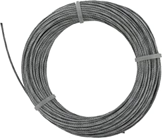 Koch Industries 016122 Koch 16122 Aircraft Cable 350 Lb, 1//8 in Dia X 250 Ft L
