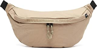 TRIBE - Beige cotton bum bag