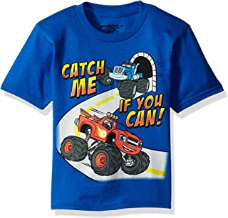 Nickelodeon Blaze and The Monster Machines Toddler Boys' Short Sleeve T-Shirt Shirt, Heather Grey, 4T