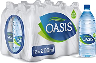 Oasis Still Drinking Water, 12 x 200 ml