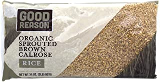 Good Reason Rice Organic Sprouted Brown Calrose Rice, 2 Lb