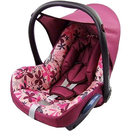 Bambiniwelt Ersatzbezug Für Maxi Cosi Cabriofix 6 Tlg Bezug Für Babyschale Komplett Set Eule 1 Xx Baby