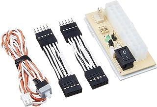 AINEX 【セットモデル】 [ ATX電源検証ボード ] 2.54mmピッチ(2x5ピン)簡単脱着ケーブル付 KM-02B-SET