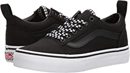 Vans Kids Old Skool Elastic Lace (Little Kid/Big Kid)