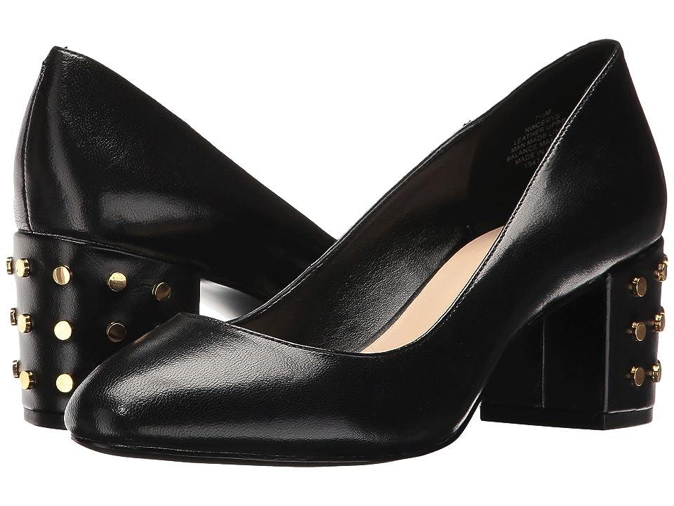 Nine West Cerys (Black Leather) Women