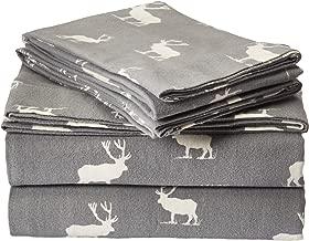 Eddie Bauer Flannel Sheet Set, Queen, Elk Grove