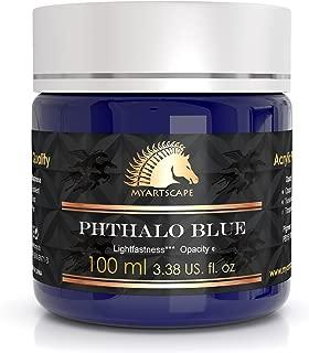 Acrylic Paint - 100ml - Artists' Quality - MyArtscape (Phthalo Blue)