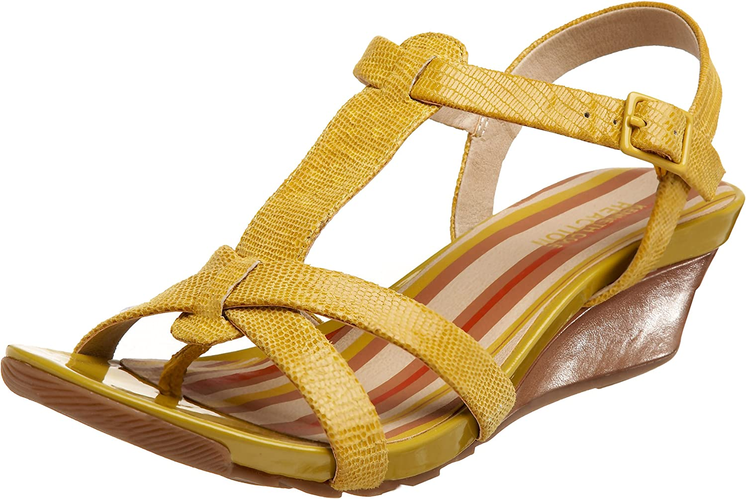 Online limited product Kenneth Cole REACTION Women's Sunny Dew Wedge T-Strap San Diego Mall