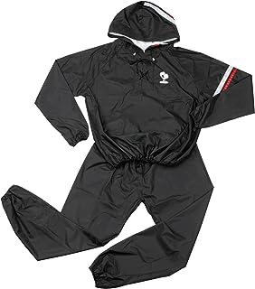 IRONMAN CLUB(鉄人倶楽部) ボクサー タイプ サウナスーツ KW-819 フード付 フリーサイズ