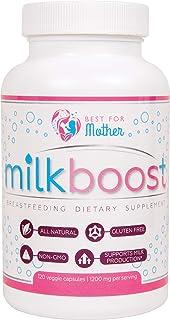 MILKBOOST por BestForMother | 1200 mg de mezcla de hierbas