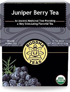 Buddha Teas Organic Juniper Berry Tea   18 Bleach-Free Tea Bags   Antioxidants   Made in the USA   Caffeine-Free   No GMOs