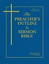 The Preacher's Outline & Sermon Bible: Master Subject Index KJV