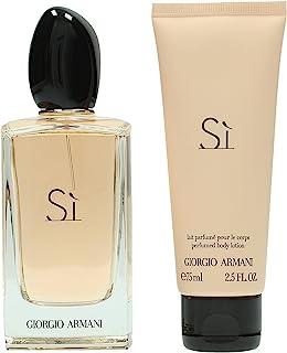 Giorgio Armani - Armani Si - Set de regalo para mujer - Eau de parfum 100 ml + Loción corporal 75 ml